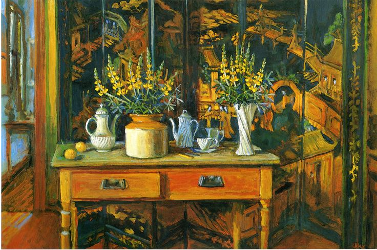 """Yellow Room With Lupins,"" 1994"