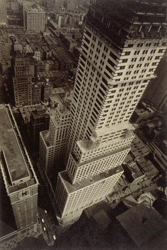 One of Abbott's images of New York, taken between 1929-1933