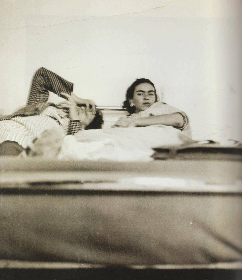 Frida and Diego, 1930