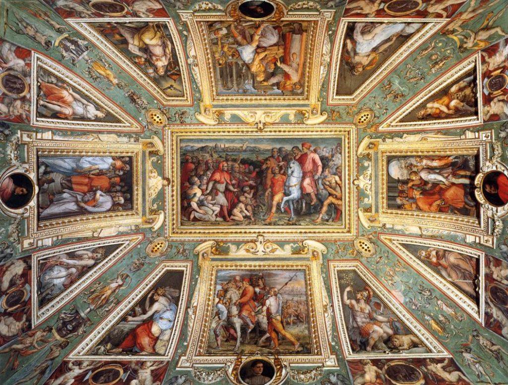 """""""Sala di Cosimi I,"""" Palazzo Vecchio, Florence"""