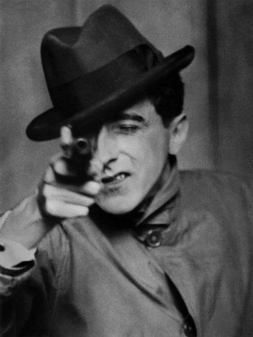 """""""Jean Cocteau With A Gun,"""" 1926"""