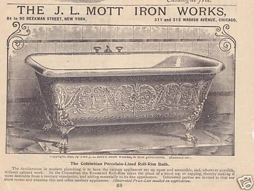 "JL Mott Iron Works sold urinals in 1917, but not the model that Duchamp claims to have bought to use as ""Fountain"""
