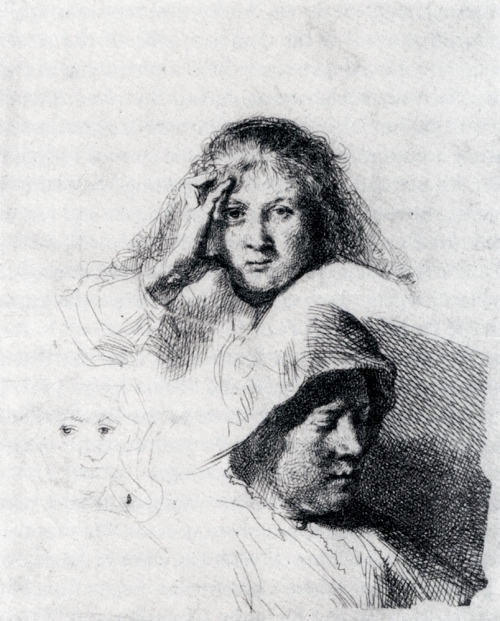 1318086200_www.nevsepic.com.ua_rembrandt_sheet_of_sketches_with_a_portrait_of_saskia