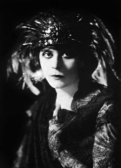 "Theda Bara in the Broadway play, ""The Blue Flame"""