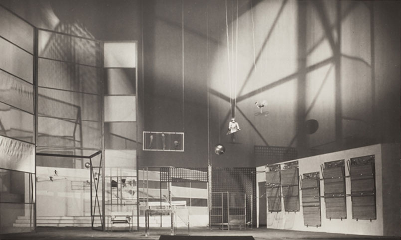 "Stage design, 1929, for ""Tales Of Hoffman"""