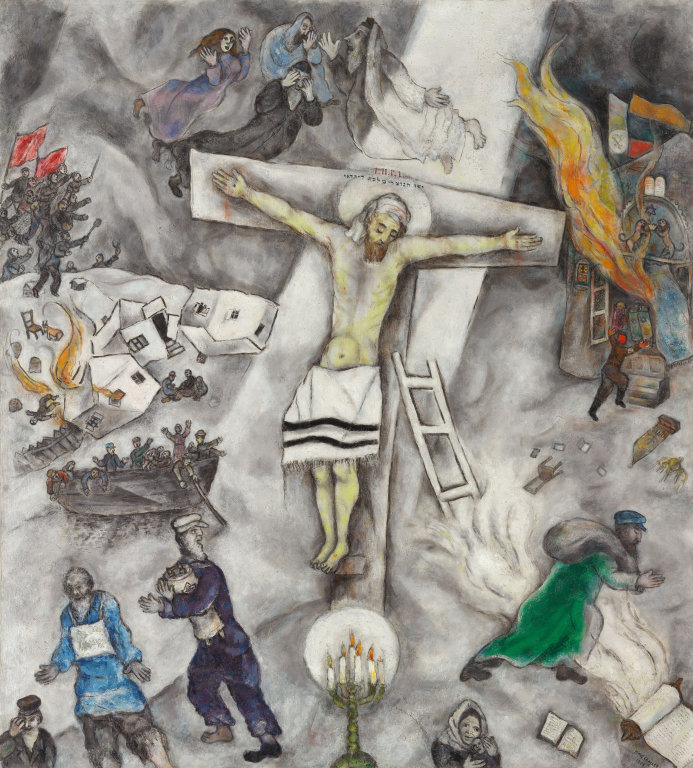 """White Crucifixion,"""