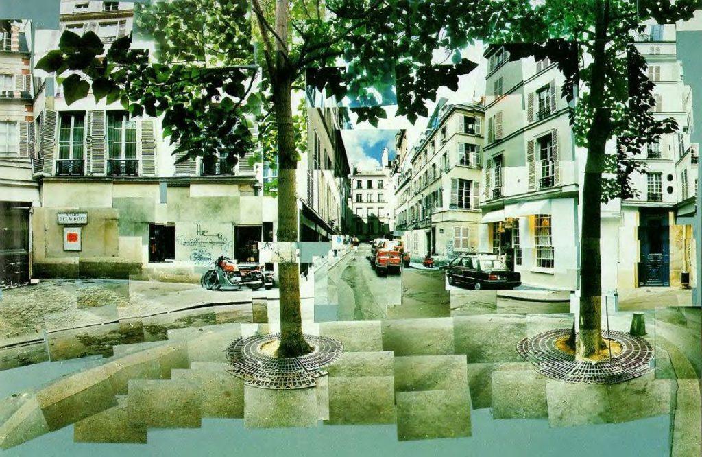 """Place Furstenberg Paris,"" 1985"