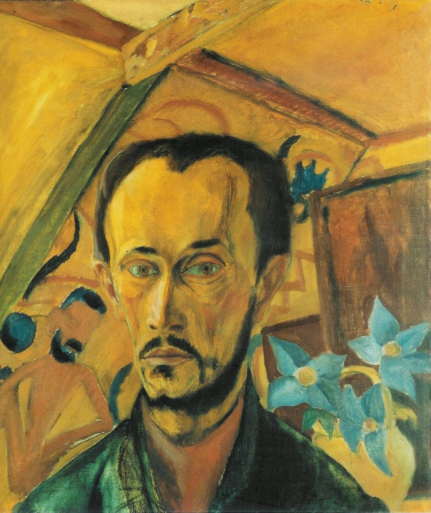 """Self Portrait,"" 1919"