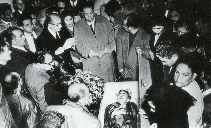 Frida's funeral,