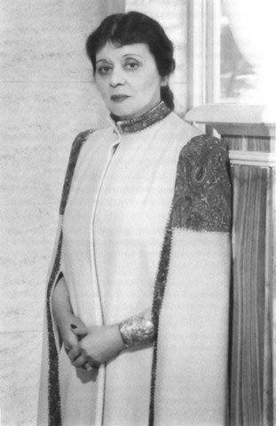 The last formal portrait of Theda Bara, 1951