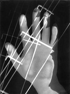"""""""Hand,"""" photogram, 1928"""