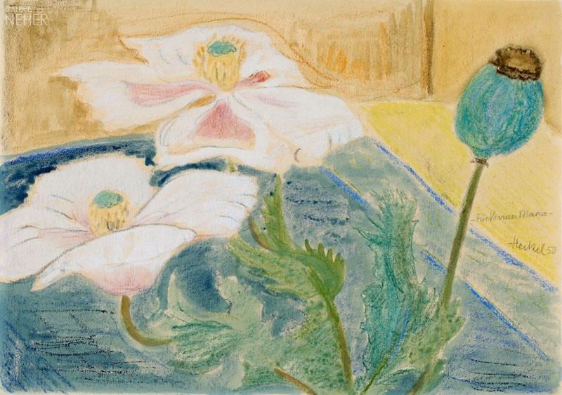 """""""Poppies,"""" 1950"""