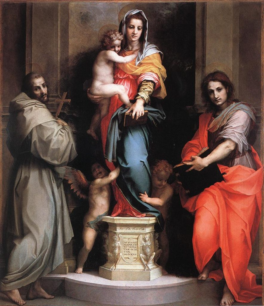 """Madonna Of The Harpies,"""