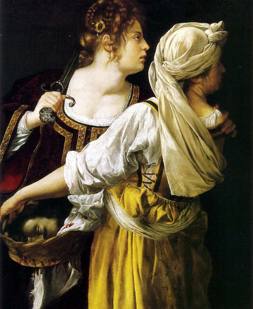 """Judith and her Maidservant,"" 1620"