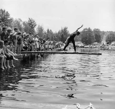 """Balancing Act,"" 1965, Maine"