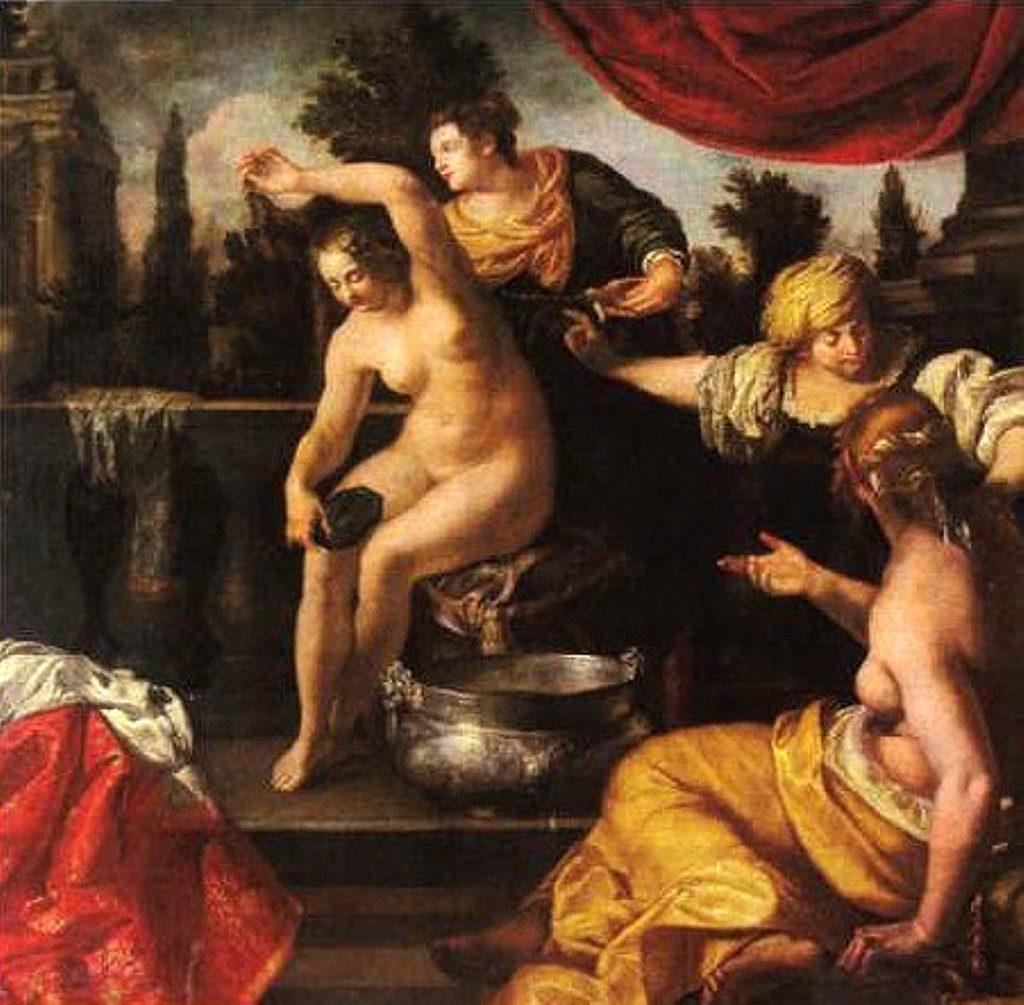 """Bathsheba at Her Bath,"" 1640-45"