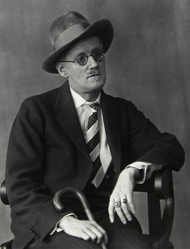Portrait of James Joyce, 1926 - by Berenice Abbott
