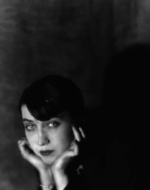 Portrait of Berenice Abbott, by Man Ray, 1925