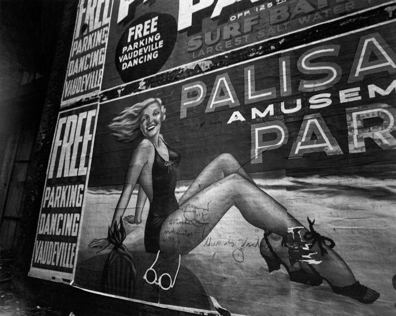 """Billboard At Palisades Amusement Park,"" New Jersey, 1954"