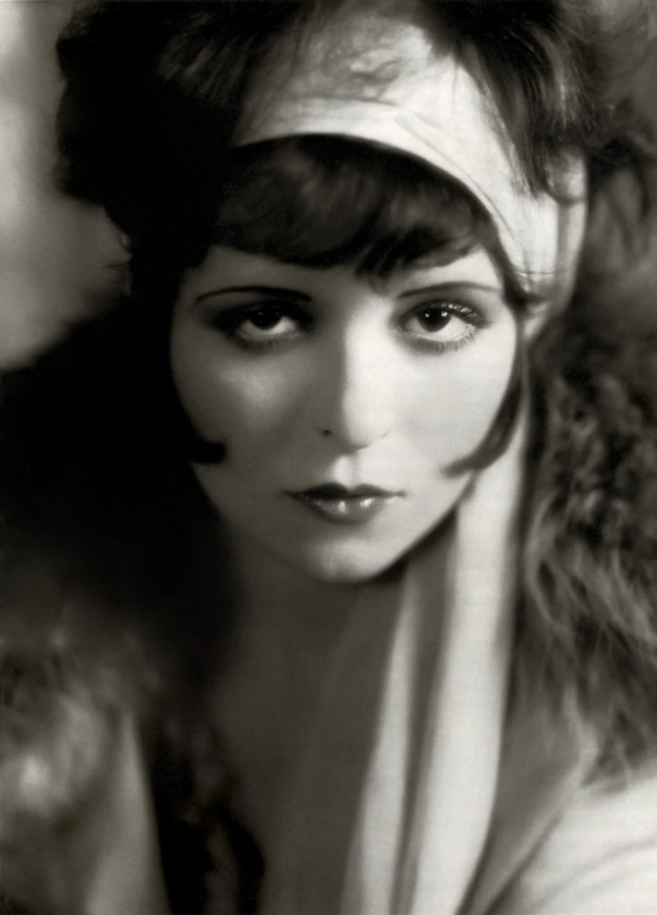 "Another of film's early ""vamps,"" Clara Bow, 1926"