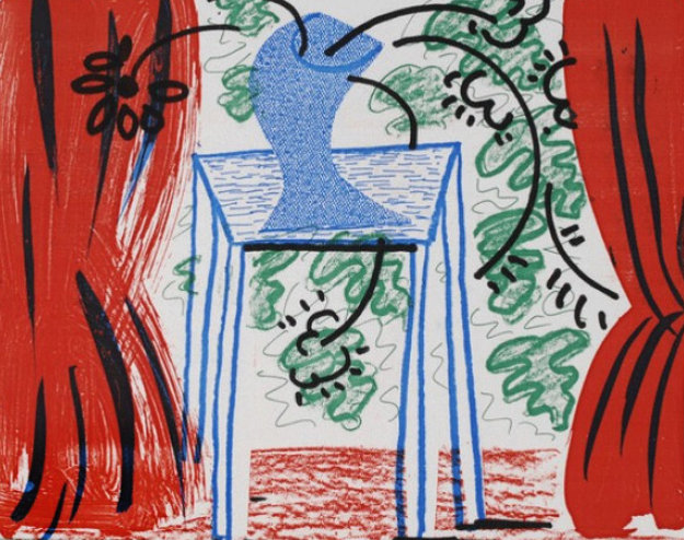"""""""Still Life With Curtains,"""" 1986"""
