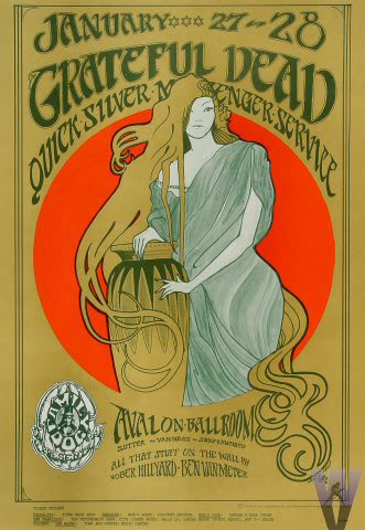 Design by Hapsash and The Coloured Coat, for the band The Grateful Dead, c. 1967