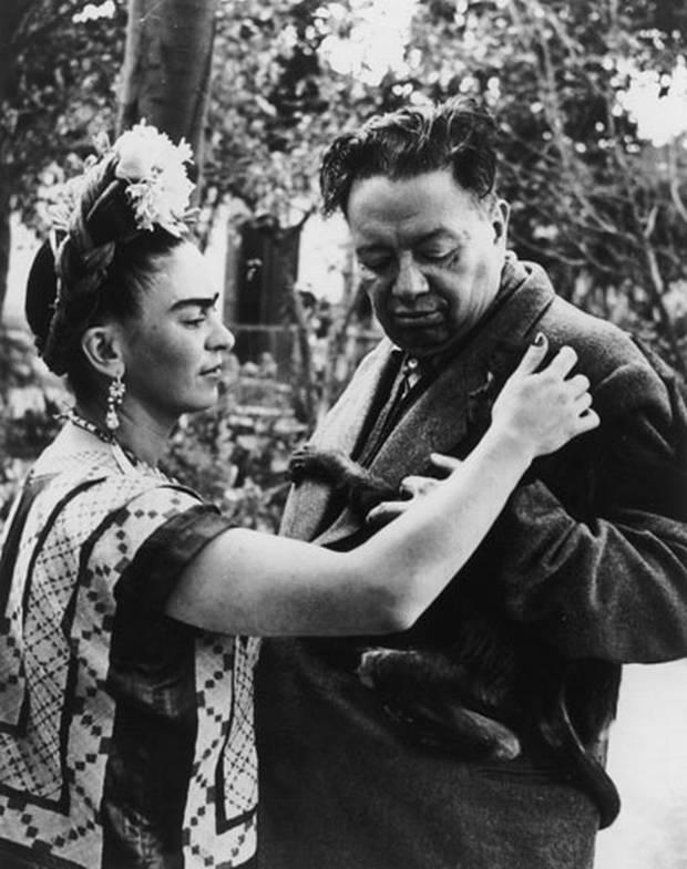 Frida and Diego, 1940