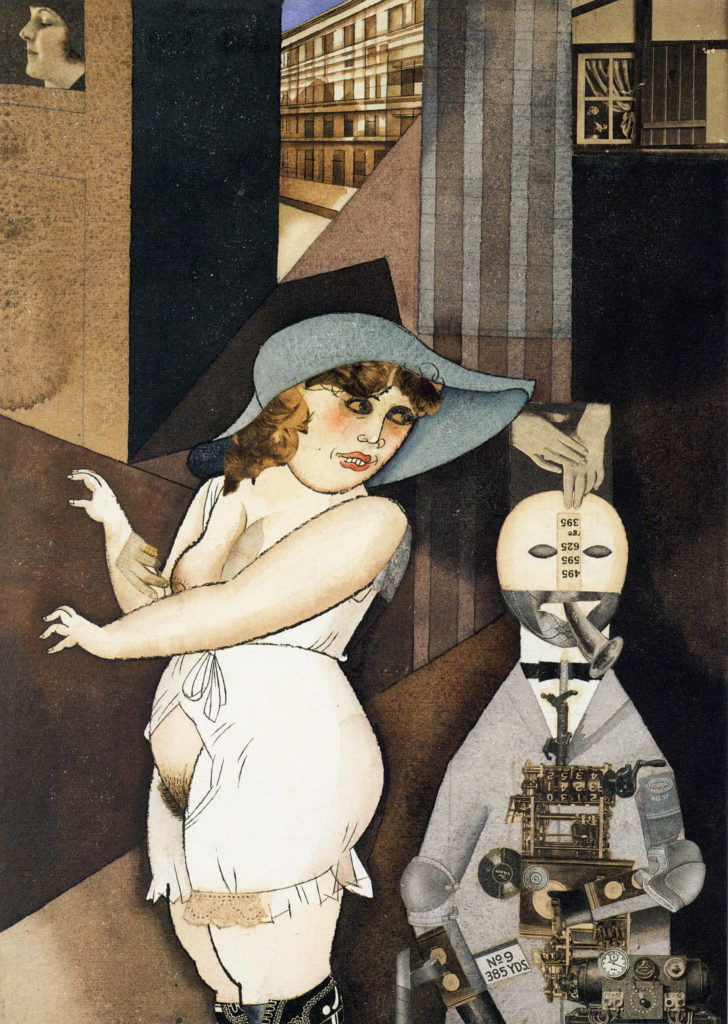 """Daum Marries Her Pedantic Automaton George In May 1920, John Heartfield Is Very Glad Of It,"" 1920"