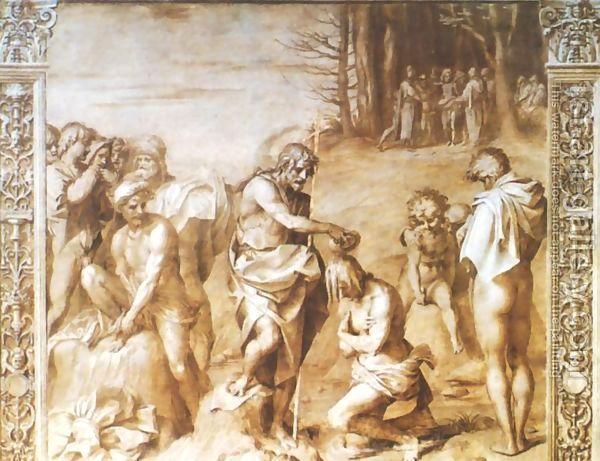 """Baptism Of Christ,"" 1510"