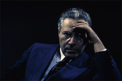 Self portrait, 1944, an early experiment with color transparencies