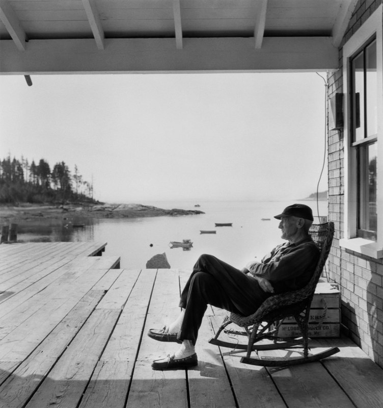 """Old Man In A Rocker,"" 1967, Maine"
