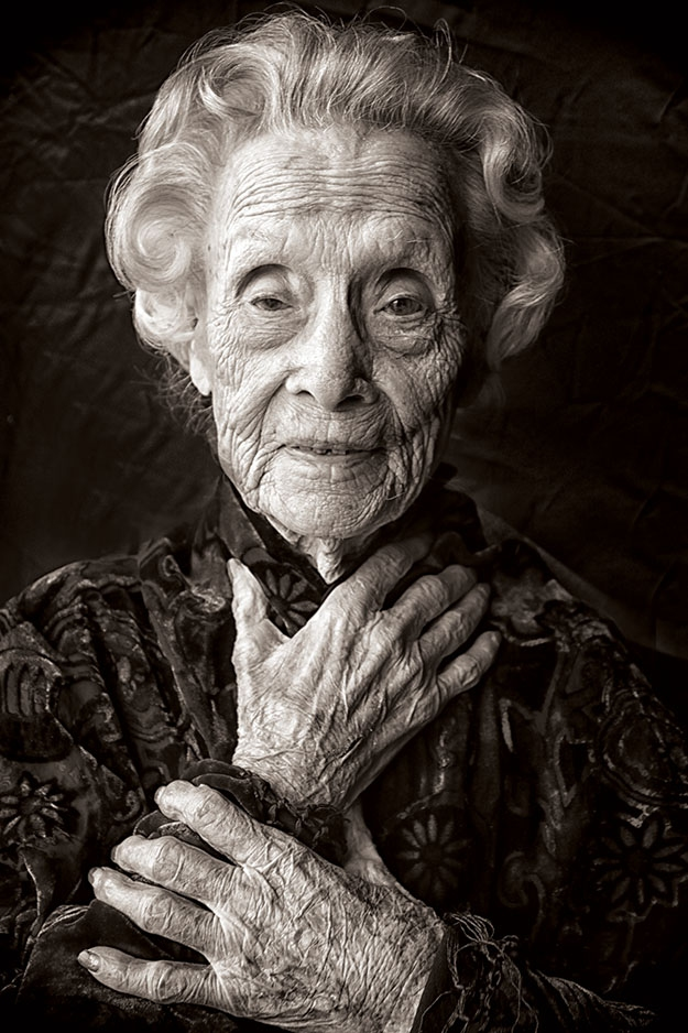 Ora Reed Holland, 112 years old in 2012, by MJ Alexander
