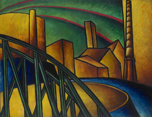 """Hungarian Landscape,"" 1918"