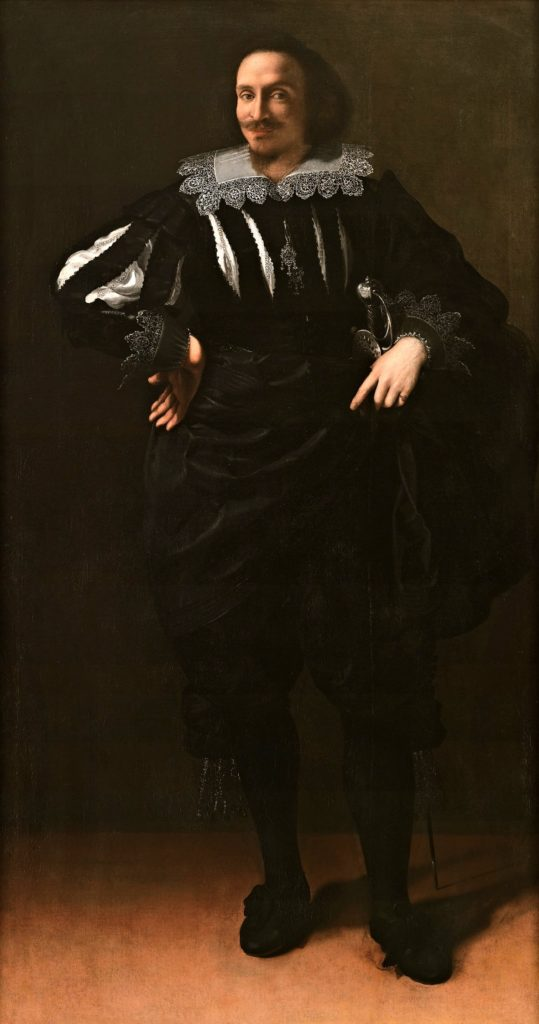 """Portrait of a Gentleman (Antoine de Ville?)"" 1627"