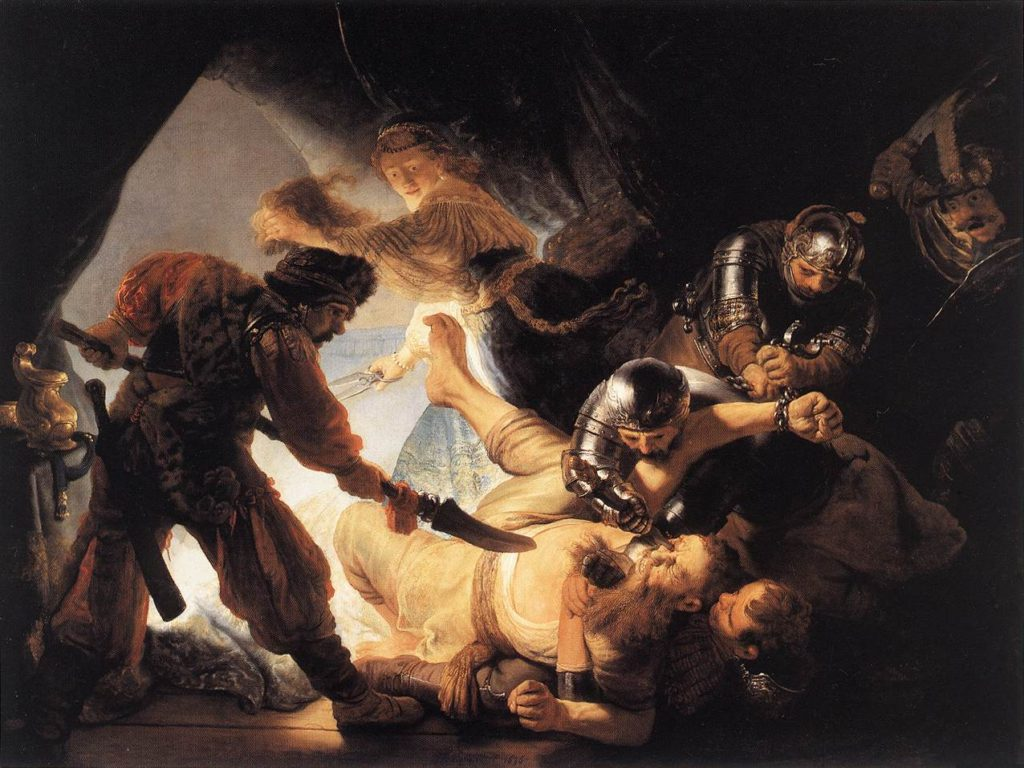 """The Blinding Of Samson,"""