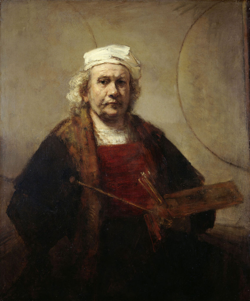Self portrait, created between 1665-69