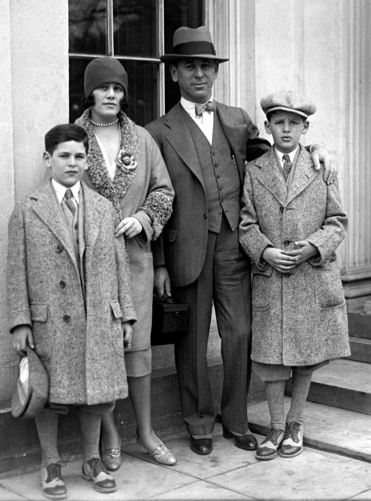 Goldberg family, 1929