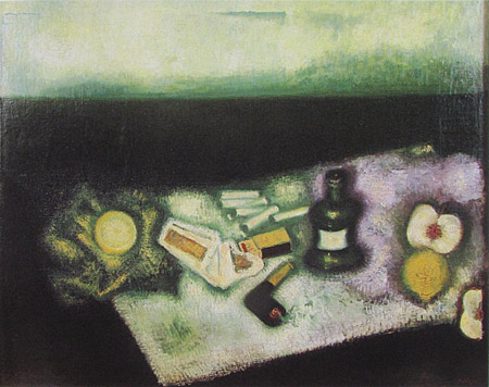 """Still Life With Pipe,"" 1927"