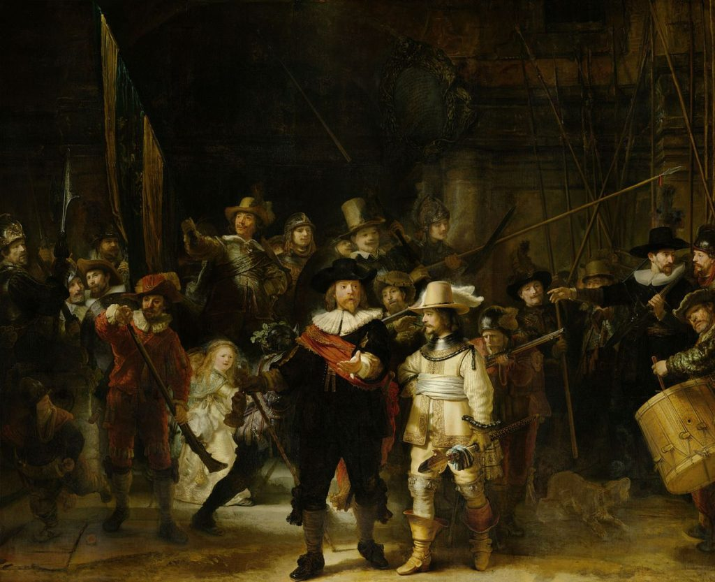 """The Night Watch,"" 1640"