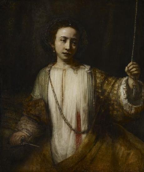 """""""The Suicide of Lucretia,"""" 1666"""