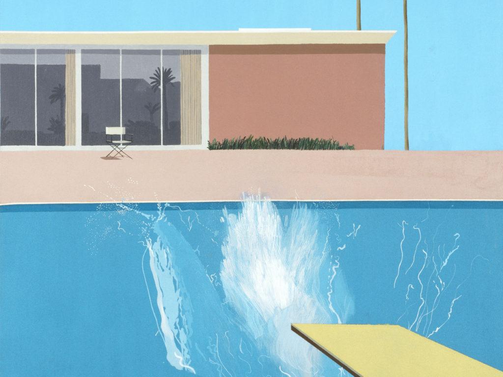 """""""A Bigger Splash,"""""""