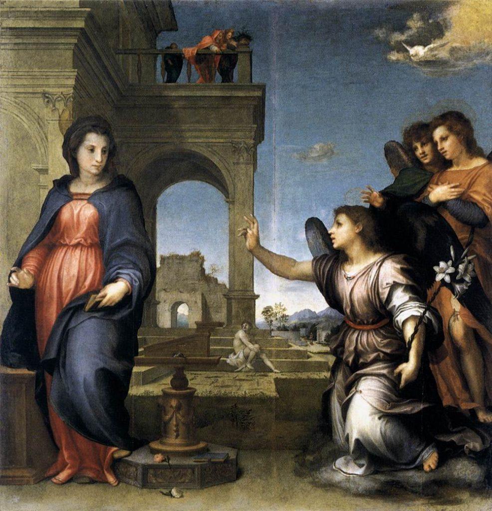 """Annunciation,"" 1512"