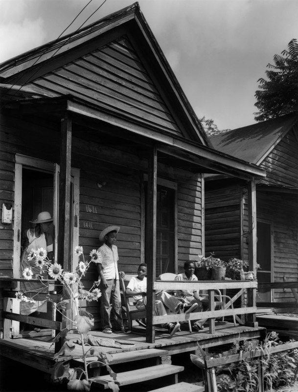 """""""Children On A Porch,"""" Augusta, Georgia, 1954"""
