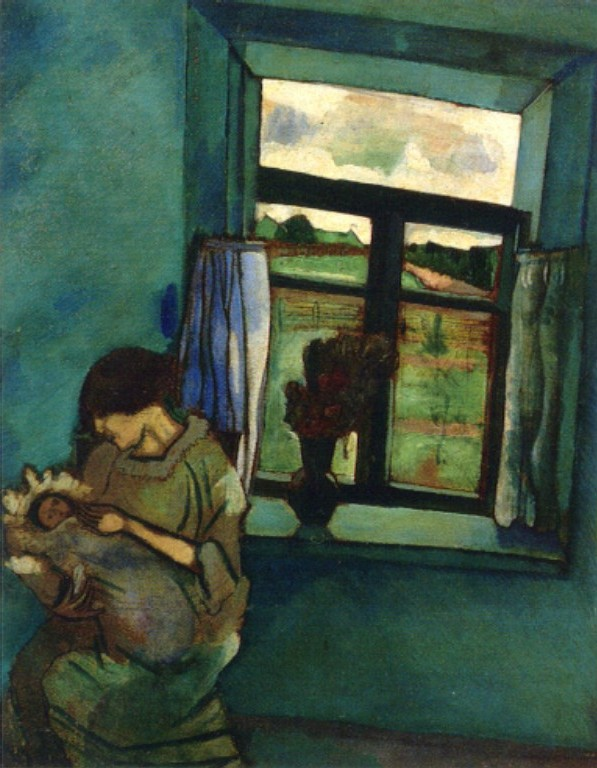 """""""Bella And Ida By The Window,"""" 1916"""