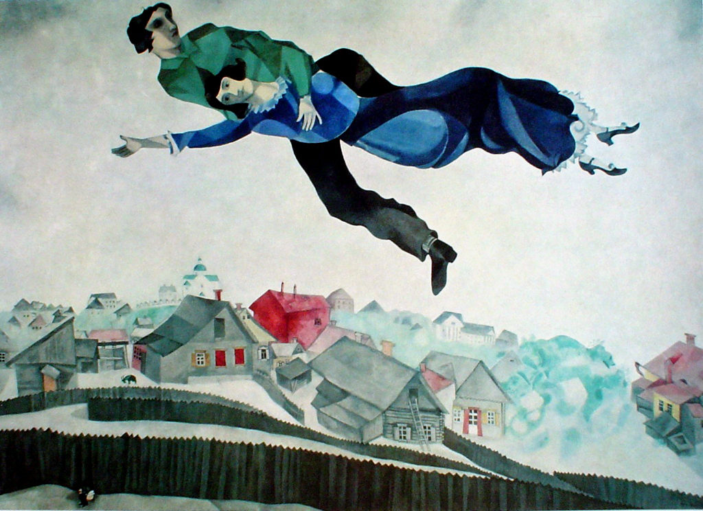 """""""Lovers Above The Town,"""" 1918"""