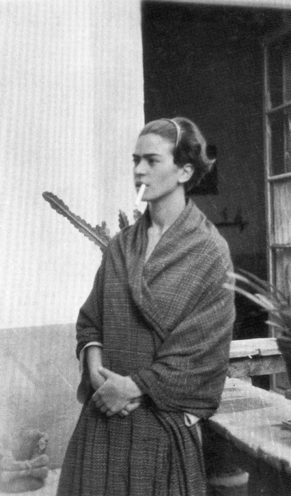 1934, Frida after having cut her trademark long hair