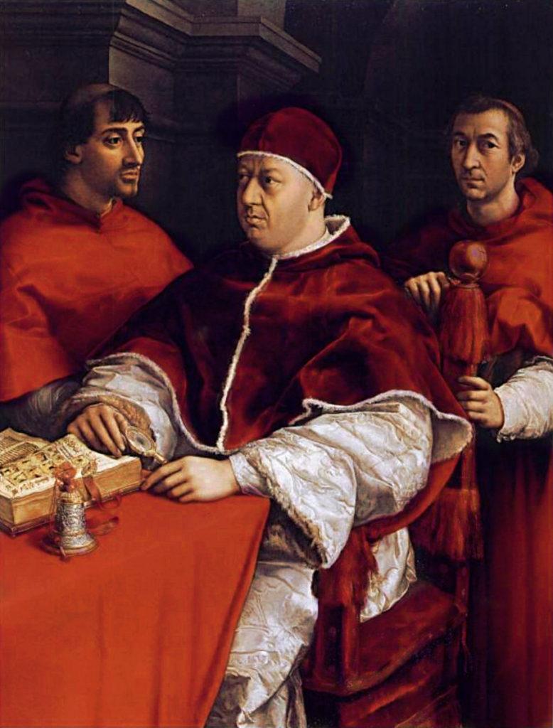 """""""Pope Leo X,"""" by Andrea del Sarto"""