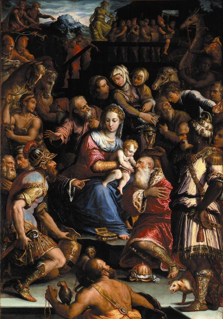 """Adoration of the Magi,"" 15"