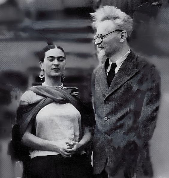 Frida and Leon Trotsky, 193