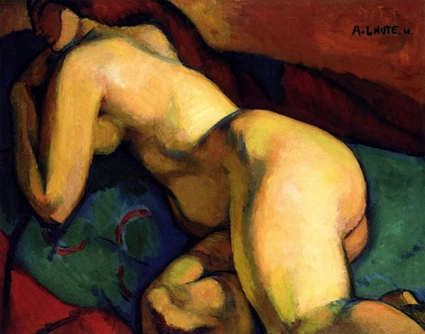 """Female Nude, In Repose,"" 1910"